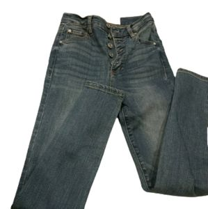 NWOT Garage buttonfly skinny jeans